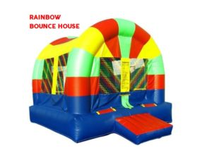Rainbow Bounce House Rental